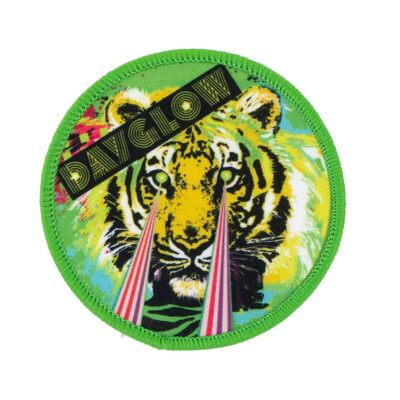 Dayglow Circle Patch