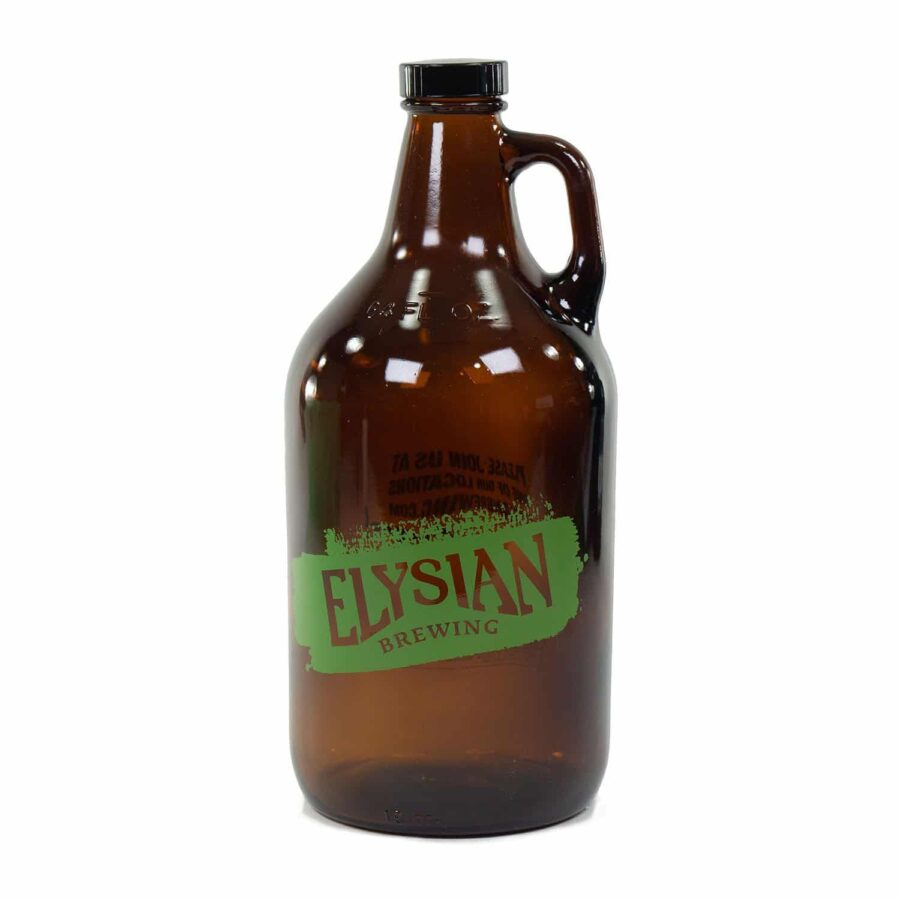 Elysian Glass Growler