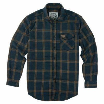 Men's Navy Flannel