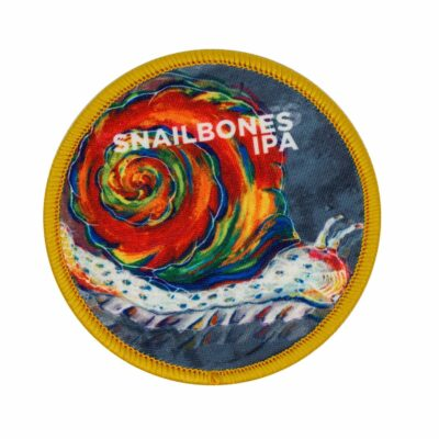 Snailbones Circle Patch