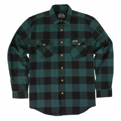 Green Buffalo Flannel