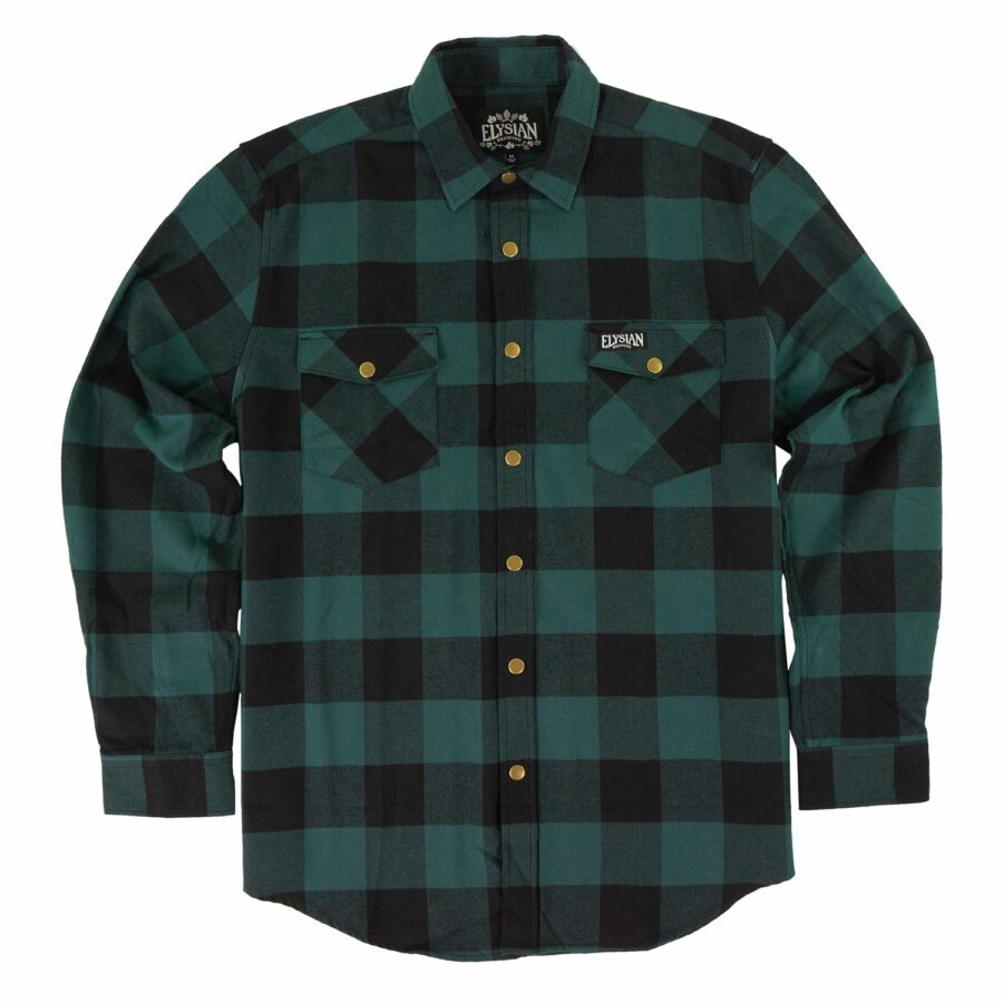 Green Buffalo Flannel