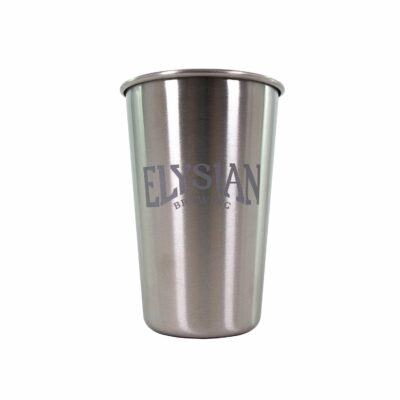 Stainless Steel 16oz Pint Glass