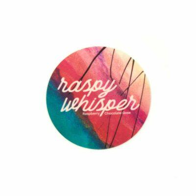 Raspy Whisper Sticker - NEW (Single)