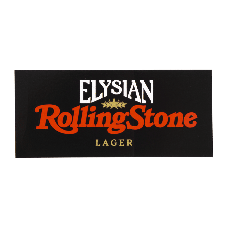 Elysian Rolling Stone Sticker